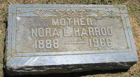HARROD, NORA L. - Pulaski County, Arkansas | NORA L. HARROD - Arkansas Gravestone Photos