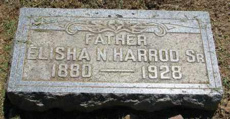 HARROD, SR., ELISHA N. - Pulaski County, Arkansas | ELISHA N. HARROD, SR. - Arkansas Gravestone Photos