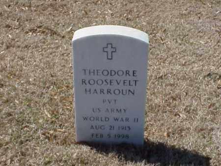 HARROUN (VETERAN WWII), THEODORE ROOSEVELT - Pulaski County, Arkansas | THEODORE ROOSEVELT HARROUN (VETERAN WWII) - Arkansas Gravestone Photos