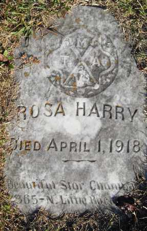 HARRY, ROSA - Pulaski County, Arkansas | ROSA HARRY - Arkansas Gravestone Photos