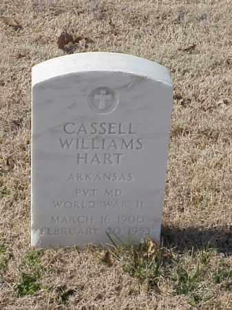 HART  (VETERAN WWII), CASSELL WILLIAMS - Pulaski County, Arkansas | CASSELL WILLIAMS HART  (VETERAN WWII) - Arkansas Gravestone Photos