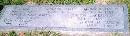 HART BANKS, GENEVA  B. - Pulaski County, Arkansas | GENEVA  B. HART BANKS - Arkansas Gravestone Photos