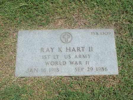 HART II (VETERAN WWII), RAY K - Pulaski County, Arkansas | RAY K HART II (VETERAN WWII) - Arkansas Gravestone Photos