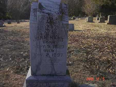 HART, JOHN - Pulaski County, Arkansas | JOHN HART - Arkansas Gravestone Photos