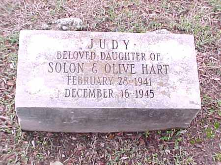 HART, JUDY - Pulaski County, Arkansas | JUDY HART - Arkansas Gravestone Photos