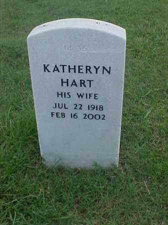 HART, KATHERYN - Pulaski County, Arkansas | KATHERYN HART - Arkansas Gravestone Photos