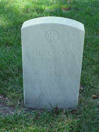 HART (VETERAN WWI), HEZEKIAK - Pulaski County, Arkansas | HEZEKIAK HART (VETERAN WWI) - Arkansas Gravestone Photos