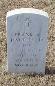 HARTLEY, JR (VETERAN VIET), FRANK A - Pulaski County, Arkansas | FRANK A HARTLEY, JR (VETERAN VIET) - Arkansas Gravestone Photos