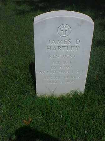 HARTLEY (VETERAN 2 WARS), JAMES DANIEL - Pulaski County, Arkansas | JAMES DANIEL HARTLEY (VETERAN 2 WARS) - Arkansas Gravestone Photos