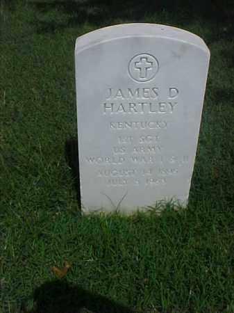 HARTLEY (VETERAN 2 WARS), JAMES DANIEL - Pulaski County, Arkansas   JAMES DANIEL HARTLEY (VETERAN 2 WARS) - Arkansas Gravestone Photos