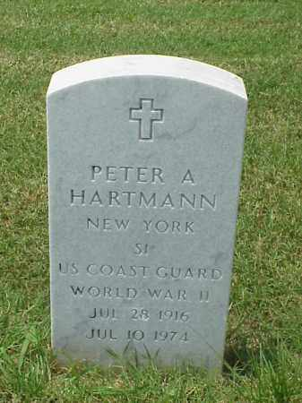 HARTMANN (VETERAN WWII), PETER A - Pulaski County, Arkansas | PETER A HARTMANN (VETERAN WWII) - Arkansas Gravestone Photos