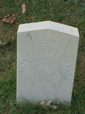 HARTWELL (VETERAN CSA), OLIVER - Pulaski County, Arkansas | OLIVER HARTWELL (VETERAN CSA) - Arkansas Gravestone Photos