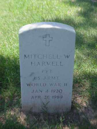 HARVELL (VETERAN WWII), MITCHELL W - Pulaski County, Arkansas | MITCHELL W HARVELL (VETERAN WWII) - Arkansas Gravestone Photos