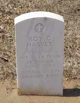 HARVEY  (VETERAN WWI), ROY C - Pulaski County, Arkansas | ROY C HARVEY  (VETERAN WWI) - Arkansas Gravestone Photos