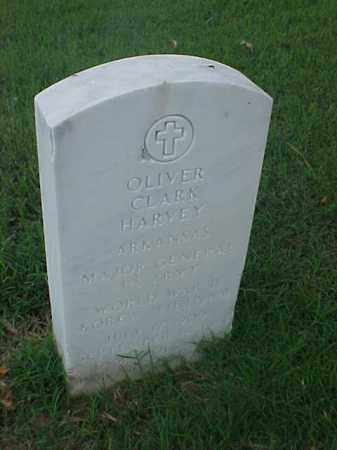 HARVEY (VETERAN 3 WARS), OLIVER CLARK - Pulaski County, Arkansas | OLIVER CLARK HARVEY (VETERAN 3 WARS) - Arkansas Gravestone Photos