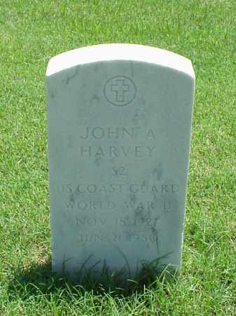 HARVEY (VETERAN WWII), JOHN A - Pulaski County, Arkansas | JOHN A HARVEY (VETERAN WWII) - Arkansas Gravestone Photos