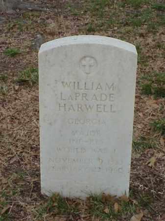 HARWELL (VETERAN WWI), WILLIAM LAPRADE - Pulaski County, Arkansas | WILLIAM LAPRADE HARWELL (VETERAN WWI) - Arkansas Gravestone Photos