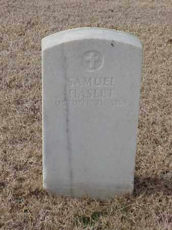 HASLET  (VETERAN UNION), SAMUEL - Pulaski County, Arkansas | SAMUEL HASLET  (VETERAN UNION) - Arkansas Gravestone Photos