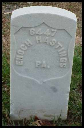 HASTINGS (VETERAN UNION), ENOCH - Pulaski County, Arkansas | ENOCH HASTINGS (VETERAN UNION) - Arkansas Gravestone Photos