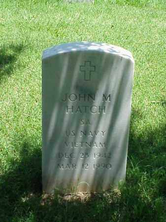 HATCH (VETERAN VIET), JOHN M - Pulaski County, Arkansas | JOHN M HATCH (VETERAN VIET) - Arkansas Gravestone Photos