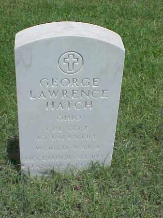 HATCH (VETERAN WWI), GEORGE LAWRENCE - Pulaski County, Arkansas | GEORGE LAWRENCE HATCH (VETERAN WWI) - Arkansas Gravestone Photos