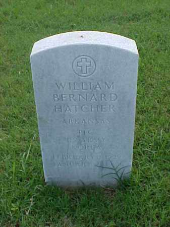 HATCHER (VETERAN KOR), WILLIAM BERNARD - Pulaski County, Arkansas | WILLIAM BERNARD HATCHER (VETERAN KOR) - Arkansas Gravestone Photos
