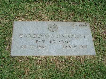 HATCHETT (VETERAN), CAROLYN S - Pulaski County, Arkansas | CAROLYN S HATCHETT (VETERAN) - Arkansas Gravestone Photos