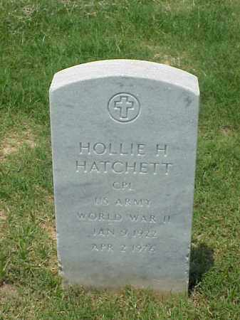 HATCHETT (VETERAN WWII), HOLLIE H - Pulaski County, Arkansas | HOLLIE H HATCHETT (VETERAN WWII) - Arkansas Gravestone Photos