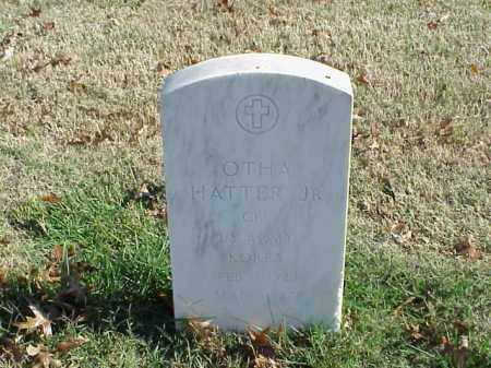 HATTER, JR  (VETERAN KOR), OTHA - Pulaski County, Arkansas | OTHA HATTER, JR  (VETERAN KOR) - Arkansas Gravestone Photos