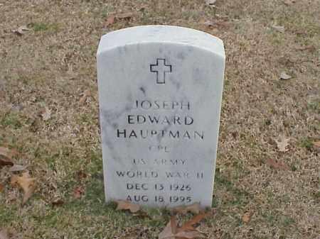 HAUPTMAN  (VETERAN WWII), JOSEPH EDWARD - Pulaski County, Arkansas | JOSEPH EDWARD HAUPTMAN  (VETERAN WWII) - Arkansas Gravestone Photos