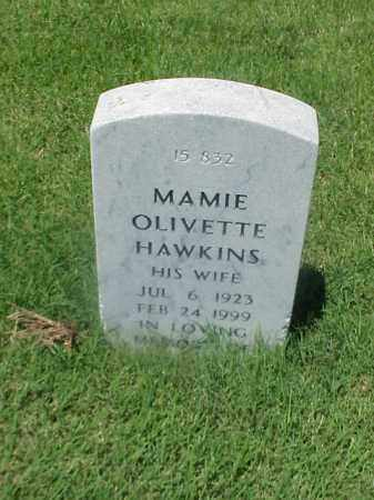 HAWKINS, MAMIE OLIVETTE - Pulaski County, Arkansas | MAMIE OLIVETTE HAWKINS - Arkansas Gravestone Photos