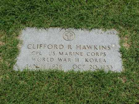 HAWKINS (VETERAN 2 WARS), CLIFFORD R - Pulaski County, Arkansas | CLIFFORD R HAWKINS (VETERAN 2 WARS) - Arkansas Gravestone Photos
