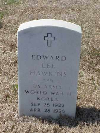 HAWKINS (VETERAN 2 WARS), EDWARD LEE - Pulaski County, Arkansas | EDWARD LEE HAWKINS (VETERAN 2 WARS) - Arkansas Gravestone Photos