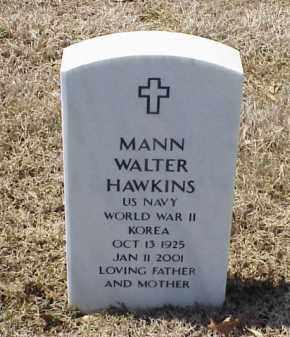 HAWKINS (VETERAN 2 WARS), MANN WALTER - Pulaski County, Arkansas | MANN WALTER HAWKINS (VETERAN 2 WARS) - Arkansas Gravestone Photos