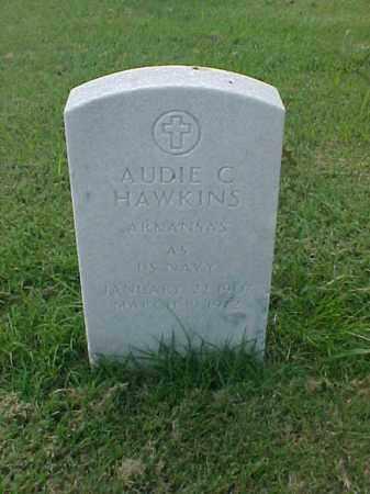 HAWKINS (VETERAN), AUDIE C - Pulaski County, Arkansas | AUDIE C HAWKINS (VETERAN) - Arkansas Gravestone Photos
