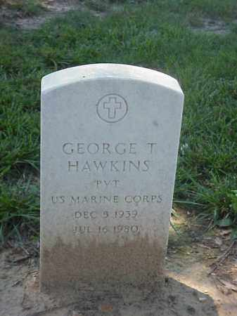 HAWKINS (VETERAN), GEORGE T - Pulaski County, Arkansas | GEORGE T HAWKINS (VETERAN) - Arkansas Gravestone Photos