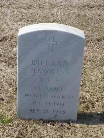 HAWKINS (VETERAN WWII), DILLARD - Pulaski County, Arkansas | DILLARD HAWKINS (VETERAN WWII) - Arkansas Gravestone Photos