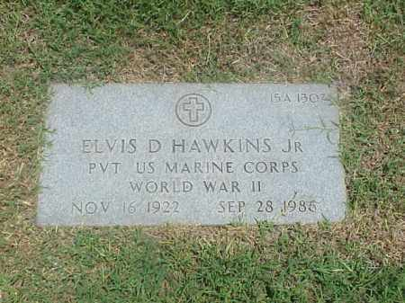 HAWKINS, JR (VETERAN WWII), ELVIS D - Pulaski County, Arkansas | ELVIS D HAWKINS, JR (VETERAN WWII) - Arkansas Gravestone Photos