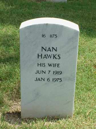 HAWKS, NAN - Pulaski County, Arkansas | NAN HAWKS - Arkansas Gravestone Photos