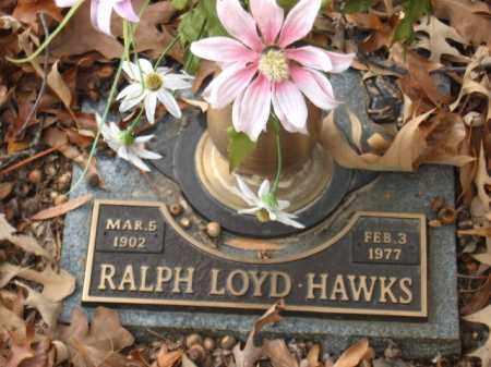HAWKS, RALPH LOYD - Pulaski County, Arkansas | RALPH LOYD HAWKS - Arkansas Gravestone Photos