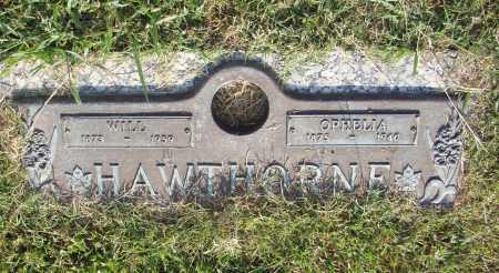HAWTHORNE, WILL - Pulaski County, Arkansas | WILL HAWTHORNE - Arkansas Gravestone Photos