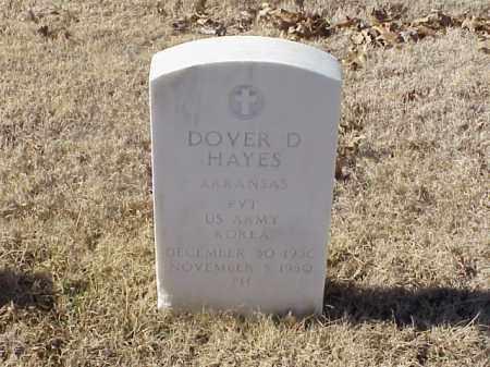HAYES  (VETERAN KOR), DOVER D - Pulaski County, Arkansas | DOVER D HAYES  (VETERAN KOR) - Arkansas Gravestone Photos