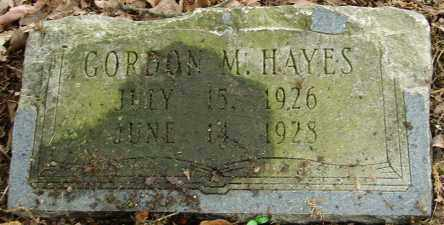 HAYES, GORDON M. - Pulaski County, Arkansas | GORDON M. HAYES - Arkansas Gravestone Photos