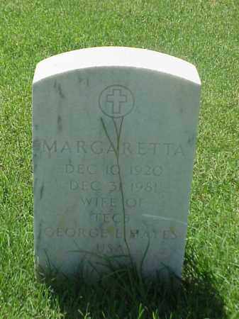 HAYES, MARGARETTA - Pulaski County, Arkansas | MARGARETTA HAYES - Arkansas Gravestone Photos