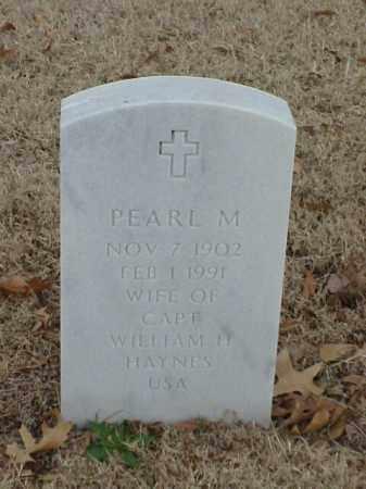 HAYNES, PEARL M - Pulaski County, Arkansas | PEARL M HAYNES - Arkansas Gravestone Photos