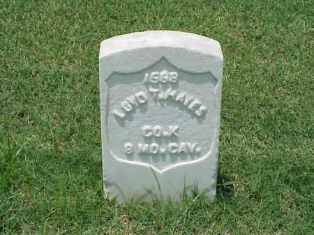 HAYES (VETERAN UNION), LOYD - Pulaski County, Arkansas | LOYD HAYES (VETERAN UNION) - Arkansas Gravestone Photos