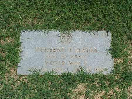HAYES (VETERAN WWII), HERBERT T - Pulaski County, Arkansas | HERBERT T HAYES (VETERAN WWII) - Arkansas Gravestone Photos