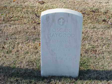 HAYGOOD  (VETERAN WWI), OSCAR - Pulaski County, Arkansas | OSCAR HAYGOOD  (VETERAN WWI) - Arkansas Gravestone Photos