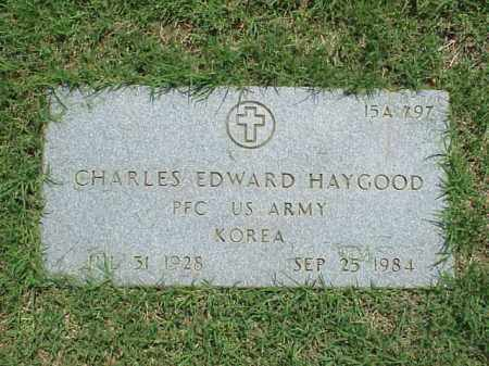 HAYGOOD (VETERAN KOR), CHARLES EDWARD - Pulaski County, Arkansas | CHARLES EDWARD HAYGOOD (VETERAN KOR) - Arkansas Gravestone Photos