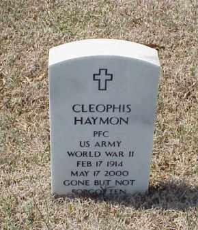 HAYMON (VETERAN WWII), CLEOPHIS - Pulaski County, Arkansas | CLEOPHIS HAYMON (VETERAN WWII) - Arkansas Gravestone Photos